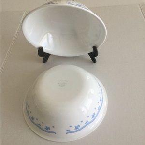 Corelle Morning Blue big soup bowl set of 2